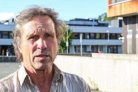 Rødt Geir Christensen har gått til sak mot Nesodden kommune.