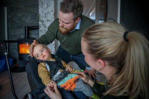 Morten Hegdal og Tuva Nordal Skjerve har avfunnet seg med at sønnen (1) skal dø.
