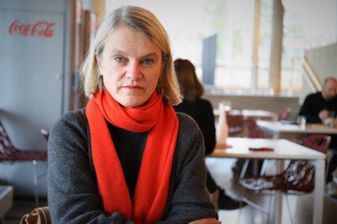 VAKSINE-JA: Stortingsrepresentant Nina Sandberg (Ap) fra Nesodden takker ja til koronavaksine.. FOTO: Steinar Knudsen
