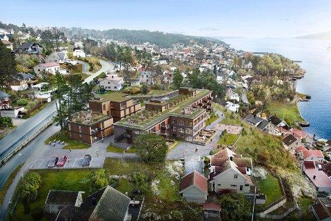 REKORD: To av leilighetene i Grande Panorama har slått den tidligere prisrekorden for bolig i Frogn.