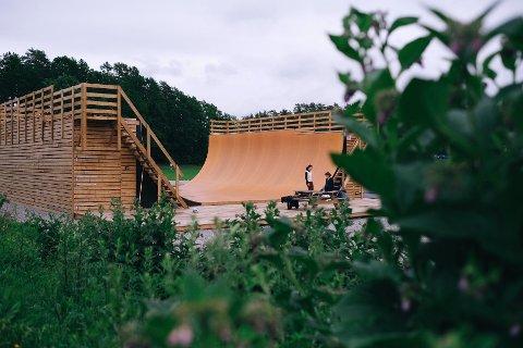 Skateboardklubben på Nesodden får tildelt 100.000 av millionen.