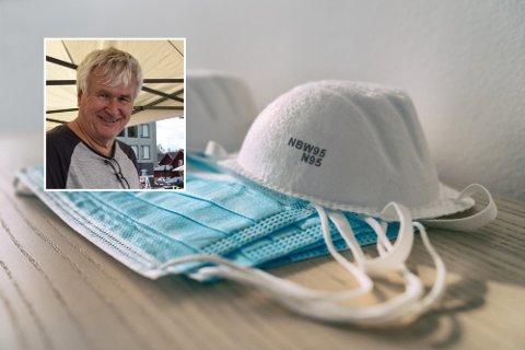 IKKE GODT NOK INFORMERT: Oddvar Børve reagerer på kundebehandlingen fra enkelte ansatte på Color Line. Han oppdaget ikke munnbindpåbudet før han var ombord. Det mener han er for dårlig.