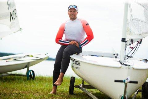 Anders Pedersen fra Drøbak deltar i OL denne sommeren.