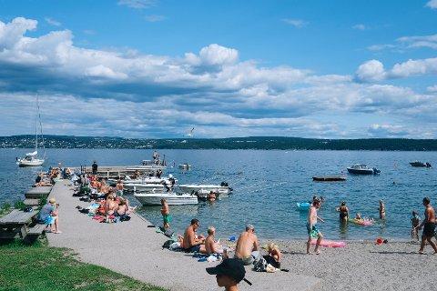Denne uken er det bra temperatur i vannet.