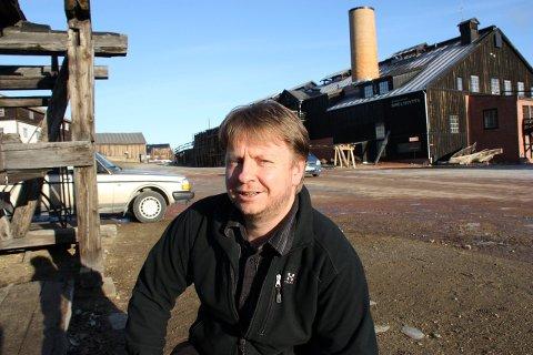 Direktør ved MiST Rørosmuseet, Odd Sletten. Arkivfoto