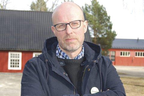 OM MJØLKEKVOTER: Lederen i Hedmark Bondelag, Erling Aas-Eng, advarer mot effekten av dagen kjøp, salg og leie av mjølkekvoter.
