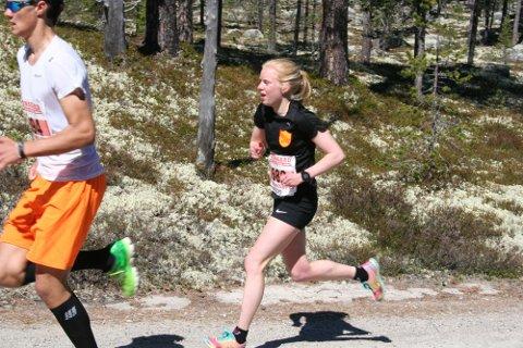 Ida Narbuvoll Meli satte rekord i Femundløpet lørdag.