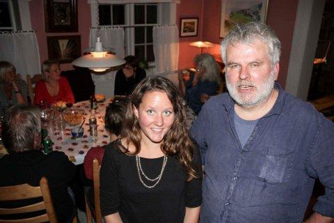 GODT VALG: Marianne Breigutu og Bjørn Salvesen kan glede seg over et godt valg, og det ser ut til at de øker fra tre til fire i kommunestyret. Foto: Tor Enget