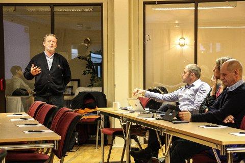 STORT LØFT: - TV-dekning vil gi Femundløpet og regionen et stort løft, sa styreleder i Femundløpet AS, Steinar Munkehaugen da han orienterte Regionrådet.