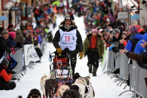 Thomas Wærner, Team Qrill Pet. Her fra Femundløpets start i 2016.