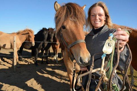 Cathrine Fodstad tilbake igjen på Myrvangen gård i Lonåsen i Tynset
