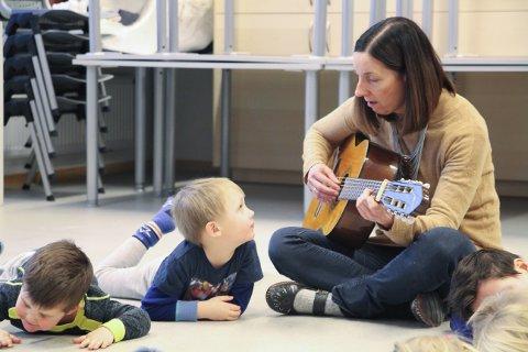Faglig ansvarlig: Mari Eggen i kulturskolen er faglig ansvarlig for samarbeidet mellom kulturskole og barnehage.