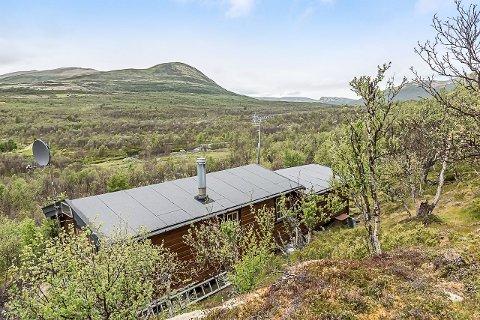 På fjellet: Hytta på Kløftvangen er enkel, spiselig pris og har flott fjellutsikt.