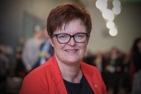 RAMMER DISTRIKTENE: Kommunalpolitisk talsmann i Sp, Heidi Greni, mener at statsbudsjettet svikter distrikts-Norge.