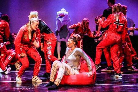MARERITT: Anna Ingeborg Tidemann opplever at huset plutselig overfylles av festglade ungdommer