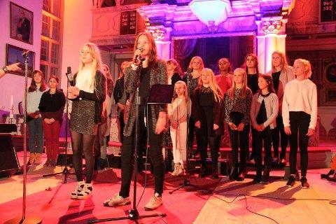 To av de dyktige solistene til Røros Soul Childeren. Koret er for ungdom som går i 5. trinn og oppover. Koret er tilknyttet den norske Soul Children-korbevegelsen og er medlem i Acta - barn og unge i Normisjon. Røros Soul Childeren ble startet høsten 2005 og ledes av Hanne Hauge.