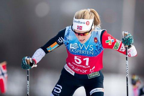 Therese Johaug  under 10km kvinner  på Beitostølen.