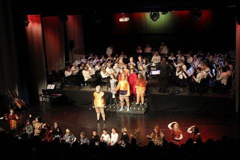 Løvenes konge: Konserten ble åpnet med En sirkel av liv