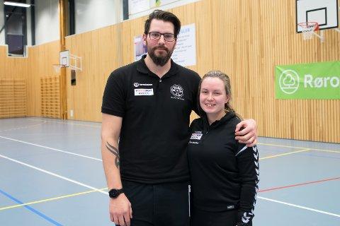 TRENERDUO: Mats Sigvartsen og Anna Lian er både samboere og trenerduo med suksess.