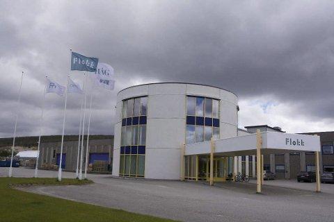 UTSETTER: Flokk på Røros investerer 30 millioner til bygging av nytt mekanisk verksted. På grunn forsinkelser i verdensmarkedet, må innflytningsfesten vente til nærmere nyttår.