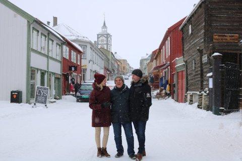 Hanne Bryde, Torfinn Rohde, Ole-Kjetil Lagaard. Alle fra Røros kommune.