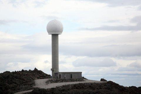 TRONFJELL: Et av tårnene på Tronfjell