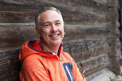 ENGASJERT: Stisyklist, kiter, ildsjel og nå virksomhetsleder Helse ved Røros Kommune Jan Roger Wold trives godt i sin nye jobb.
