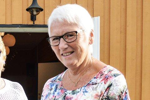 POSITIVE: Leder i Haltdalen Sanitetsforening Liv Sunde Moan har allerede fått positive tilbakemeldinger på arrangementet fra berørte voksne.
