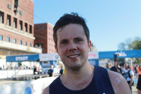 HAR LYST PÅ FLERE: Både fjorårets maratondebut og Oslo Maraton i år ga mersmak for Magnus Krog som har lyst på flere starter på den klassiske distansen.