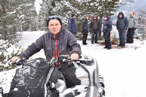NØDVERGE: - Vi vil ikke nøle med å ta i bruk nødvergeretten, sier reineier Jon Anders Mortensson i Elgå reindistrikt.