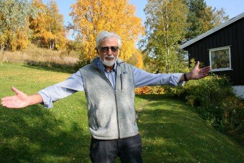 TRIVDES: – Knut Flagestad kom til Ålen for å være lege i ett år. Det ble 40.