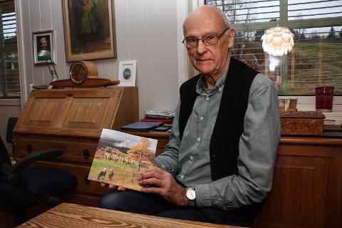 """NY DIKTSAMLING: - Senhøstsong"""" blir den siste diktsamlinga fra min side, sier Bjørn Øyan."""
