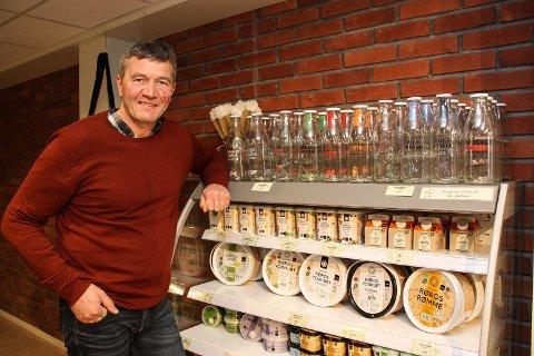FORNØYD: Bestyrer Trond W. Lund er glad for at Rørosmeieriet er nominert til Matprisen 2020.