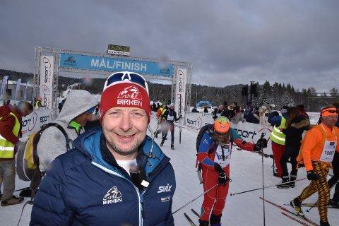 FORNØYD: Eirik Torbjørnsen i Birken AS er svært fornøyd med å ha inngått en treåring avtale med Amedia.