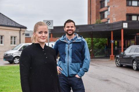 Emilie Enger Mehl og Per Martin Sandtrøen