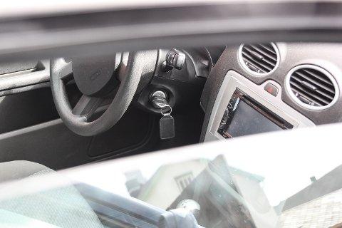 VANLIG: Innelåste bilnøkler er en gjenganger i oppdragene til bilbergerne.