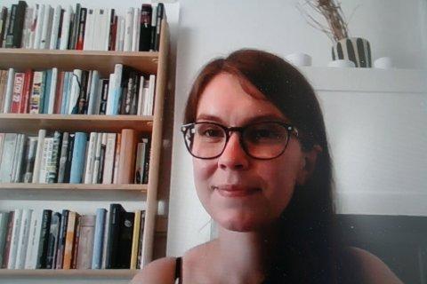 DEBUTANT. Fersk forfatter til bokbad på Litteraturfest Røros.