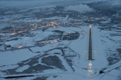 Natt til torsdag falt temperaturen like under 30 minus på Røros.