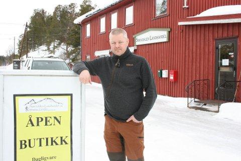 SPESIELT ÅR. Frode Sømåen har opplevd stor omsetningsøkning etter at landet ble stengt ned.