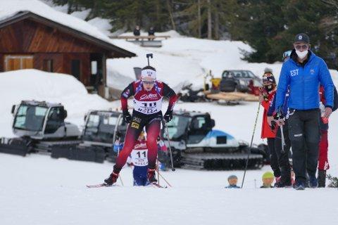 Jørgen Solhaug Sæter sikret sølvet for Norge under stafetten i junior-VM.