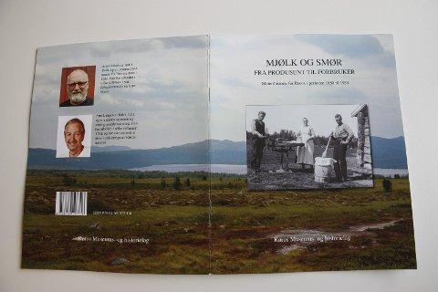 Historie: Arne Indseth og Arnt Langen har skrevet meierihistorie for Røros i perioden 1850-1954.