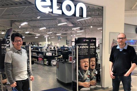 HYLEN OVERTAR FOR SOLVANG: Senest 1. juli er det klart, Terje Hylen blir Elon-sjef på Tynset, mens Bjørn Erik Solvang starter egen virksomhet.