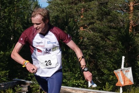 JUBELDAGER: Jon Aukrust Osmoen fra Os var bestemann under norgescupstarten.