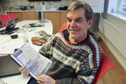 Slutter: Torfinn Rohde har sagt opp som verdensarvkoordinator og blir pensjonist fra nyttåer. Arkivfoto: Tor Enget