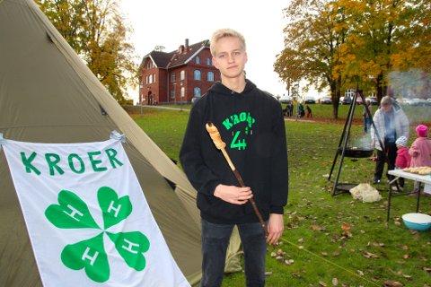 Omfattende kutt over Statsbudsjettet: - Skuffende, synes Lars Ingar Tutturen (17), som er leder i Kroer 4H.