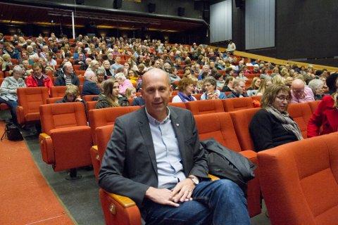 Ordfører og kinoetusiast Ola Nordal er imponert over oppsvinget til Ås kinoteater.