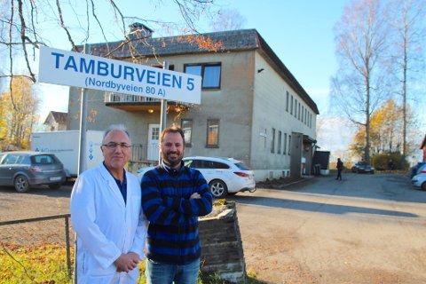 Ås eller Ski? Fastlege Christos Glavas og fysioterapeut Arve Berglund ved henholdsvis Da Vinci Klinikken og Smertefri Fysikalske Institutt avventer avklaring i spørsmålet om grensejustering.