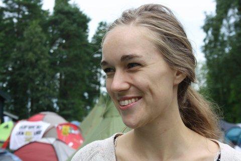 INN I KOMMUNESTYRET: Ina Libak leder Norges største ungdomsparti AUF. Nå skal hun også representere Ap i Ås kommunestyre.