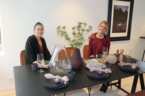 STYLER: Tine Myhre Kristiansen Irene Harbo Ekholthar bra med oppdrag om dagen.