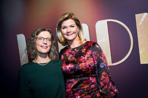 Anne Sverdrup-Thygeson (t.v.) gjestert talk showet til Anne Lindmo i begynnelsen av oktober.
